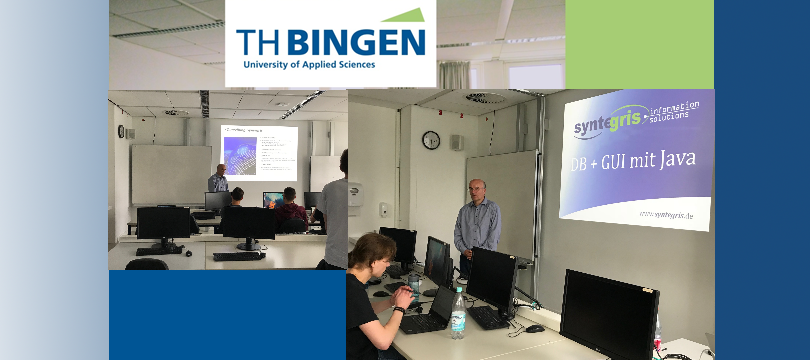 TH Bingen – Workshop (DB + GUI mit Java) – 24.05.2018